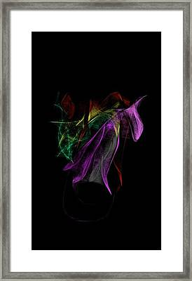 Wilted Tulips Framed Print