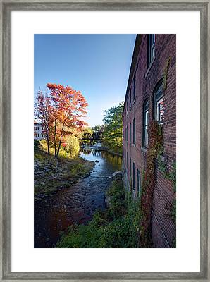 Wilton Center Framed Print