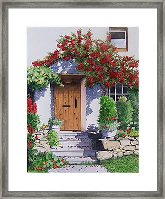 Wiltshire Cottage Framed Print