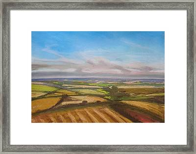 Wiltshire Landscape 1 Framed Print by Paul Mitchell