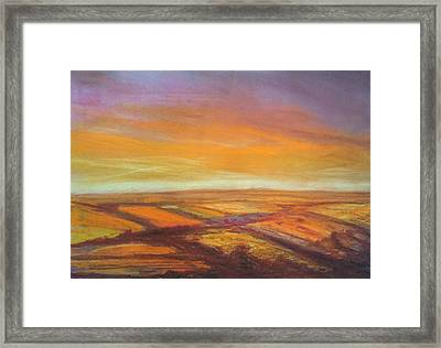 Wiltshire Landscape 2 Framed Print by Paul Mitchell