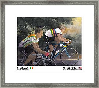 Win Win Framed Print by George Evans