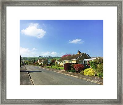 Winchcombe Homes Framed Print