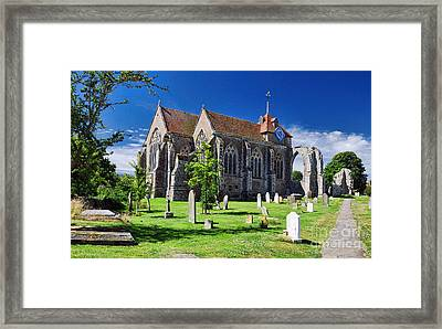 Winchelsea Church Framed Print
