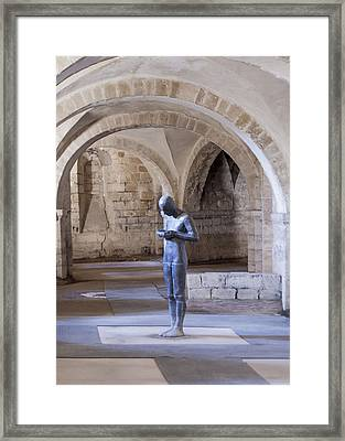 Winchester Catacombs Framed Print