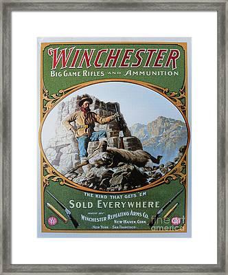 Winchester Framed Print