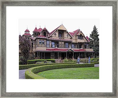 Winchester Mystery House Framed Print