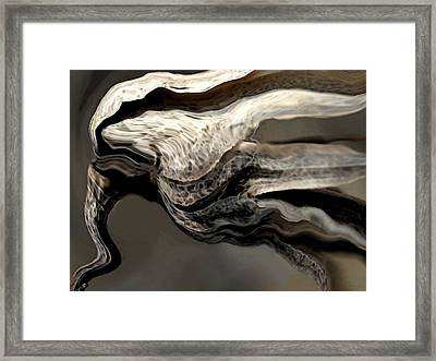 Wind 2 Framed Print by Amanda Schambon