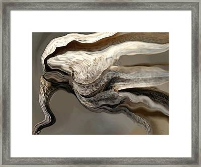 Wind Framed Print by Amanda Schambon