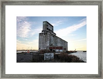 Wind And Weathering Framed Print by Peter Chilelli