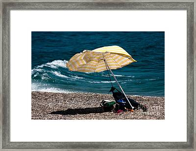 Framed Print featuring the photograph Wind  by Bruno Spagnolo