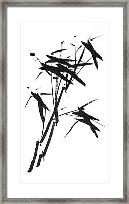 Wind Framed Print by Chang  Lee