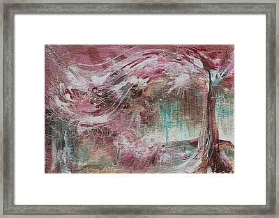 Wind Dance Framed Print by Mary Wolf