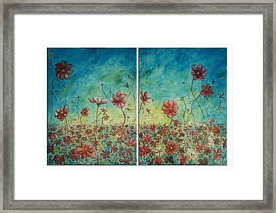 Wind Dancers Framed Print
