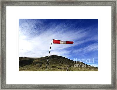 Wind Direction. France. Framed Print by Bernard Jaubert