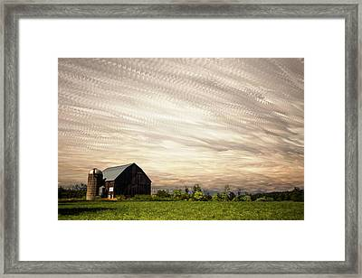 Wind Farm Framed Print