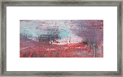 Wind From The East - Large Canvas Abstract Landscape Painting Framed Print by Modern Art Prints