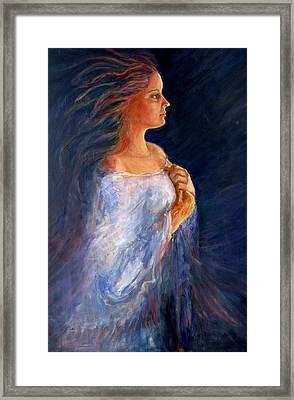 Wind Framed Print by Gladiola Sotomayor