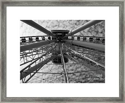 Wind Jammer Framed Print by Trish Hale