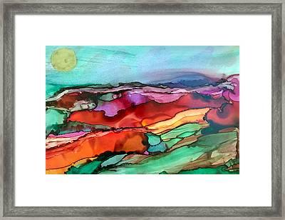 Wind Of Change Framed Print