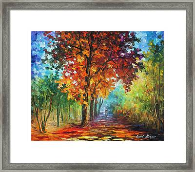 Wind Of Passion Framed Print