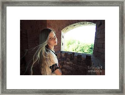 Wind Of Time Framed Print by Armen Bogush