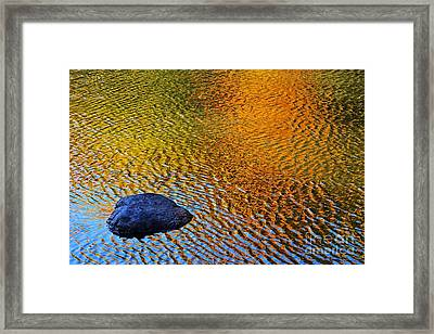 Framed Print featuring the photograph Wind On Water by Aimelle