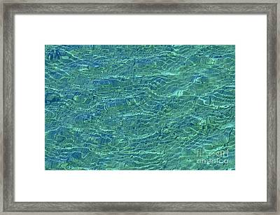 Wind Over Water Framed Print