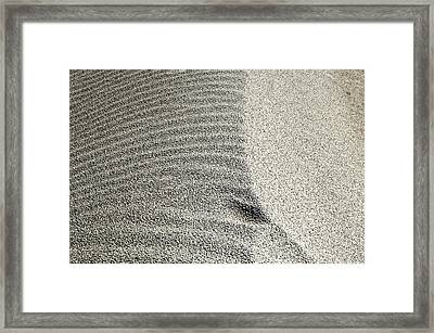 Wind Pattern Framed Print