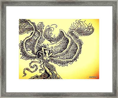 Wind Framed Print
