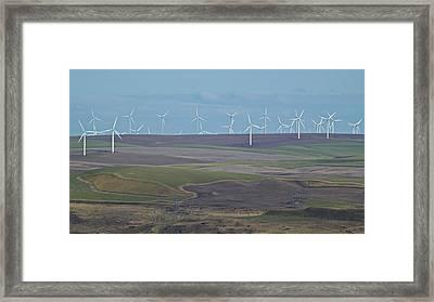 Wind Power 10 Framed Print