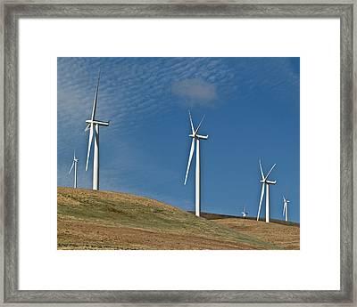 Wind Power 2 Framed Print