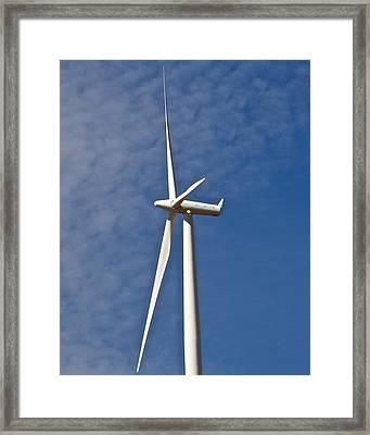 Wind Power 3 Framed Print