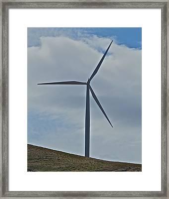 Wind Power 4 Framed Print