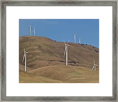 Wind Power 6 Framed Print