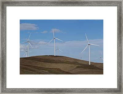 Wind Power 7 Framed Print