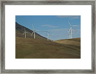 Wind Power 9 Framed Print