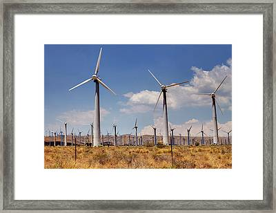 Wind Power II Framed Print by Ricky Barnard