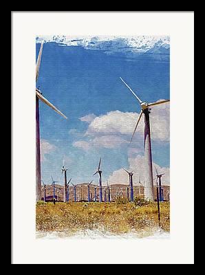 Mojave Framed Prints
