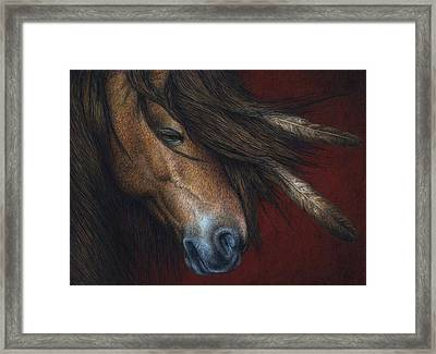 Wind River Framed Print by Pat Erickson