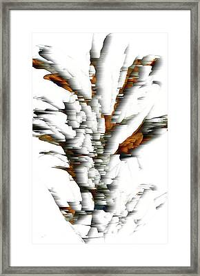 Framed Print featuring the painting Wind Series 05.072311windblastscvss by Kris Haas