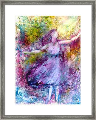 Wind-swept Framed Print