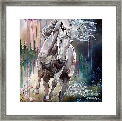 Wind Swept Framed Print
