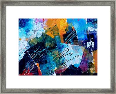 Wind Vibrations Framed Print by Donna Frost