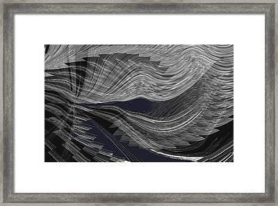 Wind Whipped Framed Print