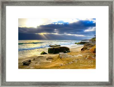 Windansea View Framed Print by Kelly Wade