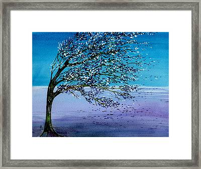 Windblown Framed Print