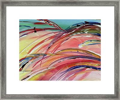 Windblown Sunset Framed Print