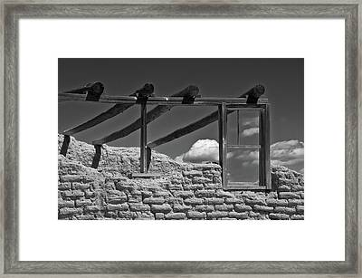 Framed Print featuring the photograph Winddow View by Carolyn Dalessandro
