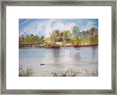 Windermere Australia Framed Print